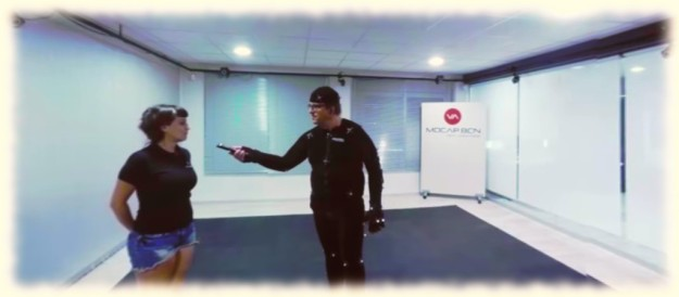 Motion Capture in the Vista Animation Studios