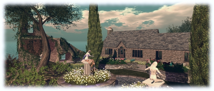 The Leafy Hollow Cottage by Domineaux Prospero - our little island home