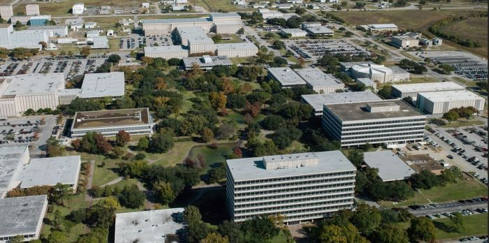 NASA's Johnson Space Centre, Texas, the home of the Eagleworks Laboratory. Credit: NASA / James Blair