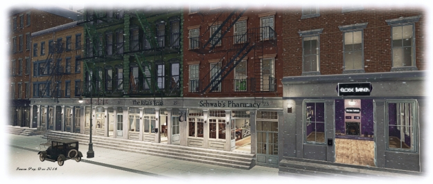 19920s New York Project: Water Street businesses