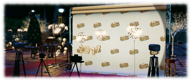 Bay City Fairgrounds: will you be on the red carpet for one of Second Life's great New Year traditions?