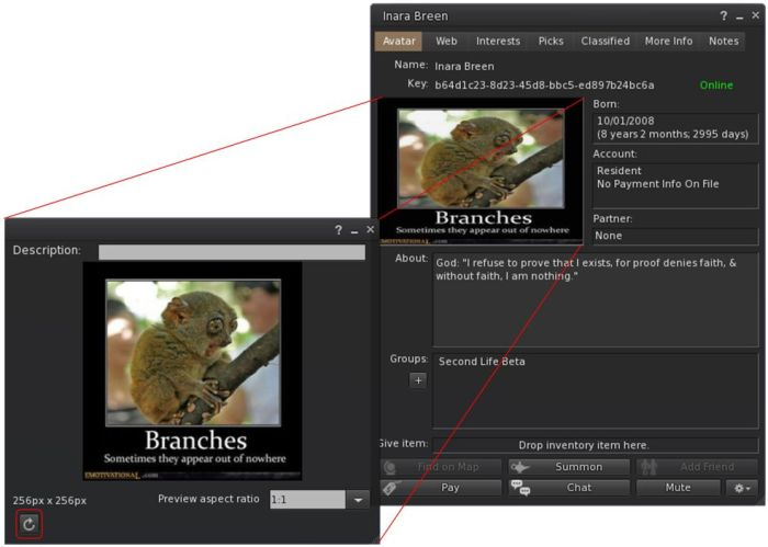 A refresh button has been added to texture preview windows to help deal with situations where the image may not properly load or render