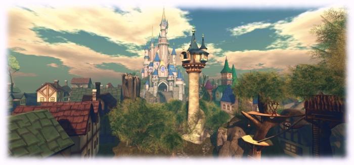 The Disney-like Spires of Andolys, Fantasy Faire 2015