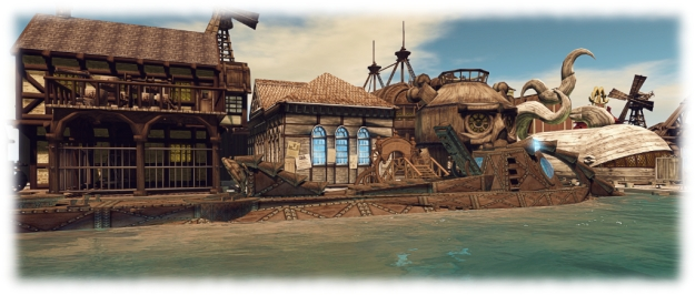 The Nautilus at Flotsam