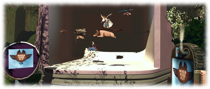 ragVR: pigs really can fly! RAG's gacha flying pig collection