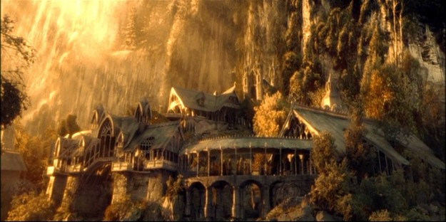 Rviendell from The Hobbit / The Lord of the Rings is one of the 14 themed regions in the Castle, Home and Garden Contest. Image: WingNutz Films / New line Cinema.