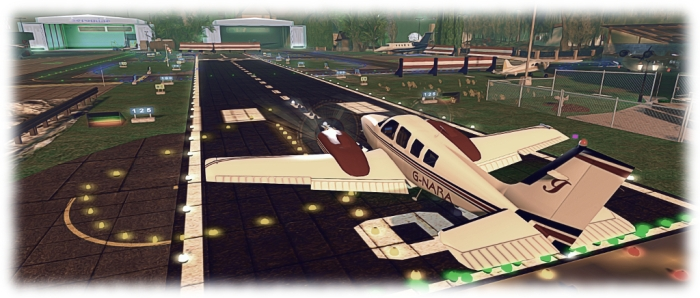Arriving at one of East River Community's airfields