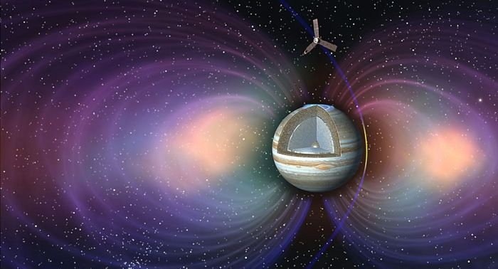 A major reason for Juno's polar orbit around Jupiter is that it allows the vehicle to pass
