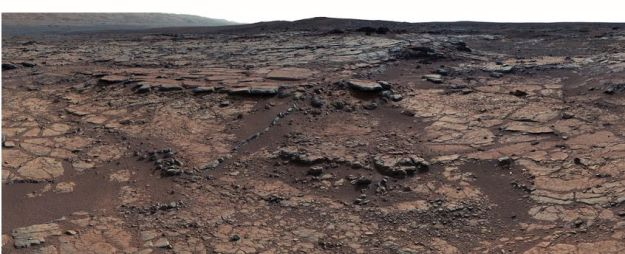 """Yellowknife Bay"" a region examined by the Curiosity Rover in 2012/13 indicated that a lake was once present in Gale Crater. However, the same rock has revealed that potentially, there was not sufficient carbon dioxide present in the atmosphere to help keep the water unfrozen"