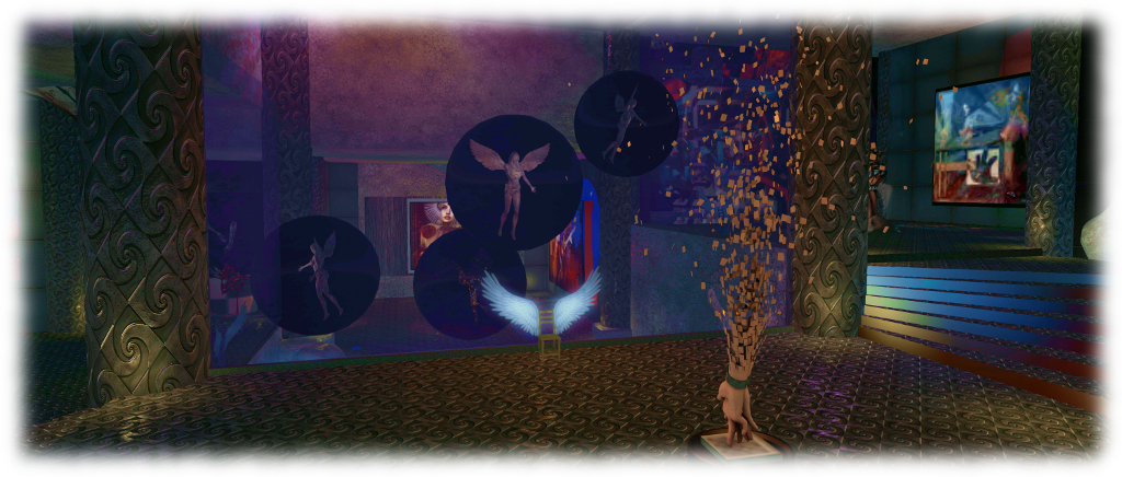 "What do you feel when you dream? ""Dreamer's Feelings,"" Art Installation in Second Life®"