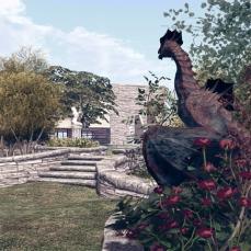 Isla Pey: wild garden