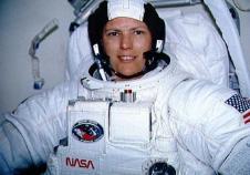 Kathryn Sullivan - first american female space walker. Credit: NASA