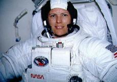 Kathryn Sullivan - first american female space walker. Credit: NASA