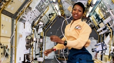 Mae Jemison - first African-American woman in space. Credit: NASA