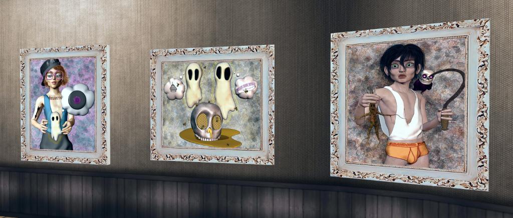 Starz Art Corner in Second Life – Inara Pey: Living in a