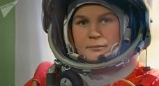 Valentina Tereshkova - first woman in space. Credit: Sputnik