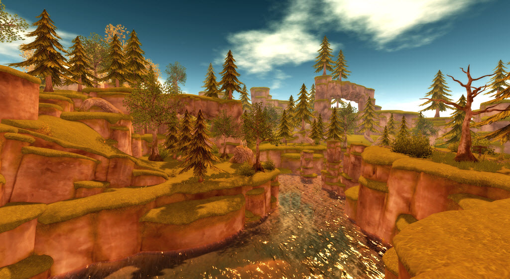 The further revamp of Linden Realms in Second Life – Inara
