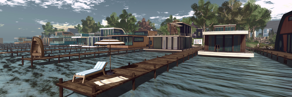 New Linden Homes Preview – Inara Pey: Living in a Modem World