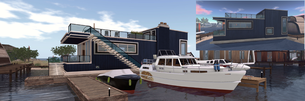 Making a (Linden) houseboat a home – Inara Pey: Living in a ... on future of boats, future armored vehicles, future navy boats, future space stations, future pontoon boats, future animals, future cruisers, future race boats, future boat design, future speed boats, future architecture concepts, future cargo boats, future boats yachts, future seaplanes, future atv, future technology, future townhouses, future power boats, future homes,