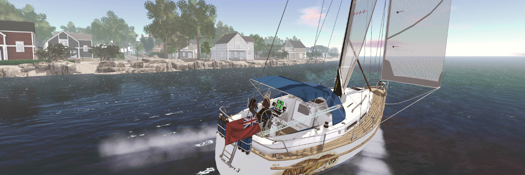 The Bandit 50/3: outstanding sailing in Second Life – Inara